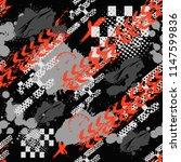abstract seamless sport pattern ... | Shutterstock .eps vector #1147599836