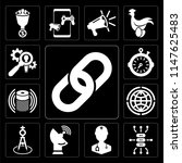 set of 13 simple editable icons ... | Shutterstock .eps vector #1147625483
