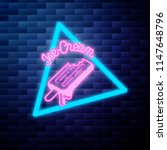 vintage ice cream emblem... | Shutterstock .eps vector #1147648796