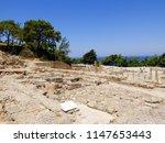 ancient kamiros. rhodes. greece | Shutterstock . vector #1147653443