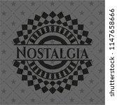 nostalgia black emblem | Shutterstock .eps vector #1147658666