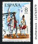 spain   circa 1974  stamp...   Shutterstock . vector #114765979