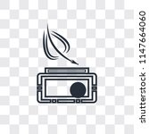 writer vector icon isolated on... | Shutterstock .eps vector #1147664060