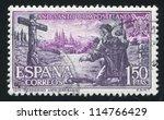 spain   circa 1971  stamp... | Shutterstock . vector #114766429