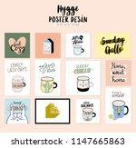super cute vector set of...   Shutterstock .eps vector #1147665863