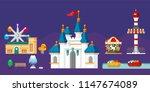 theme park  seoul  jamsil ... | Shutterstock .eps vector #1147674089