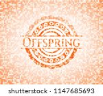 offspring abstract orange... | Shutterstock .eps vector #1147685693