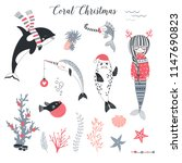 Sea Christmas Concept Clip...