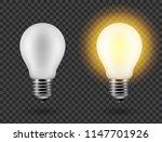 vector image of a light bulb.... | Shutterstock .eps vector #1147701926