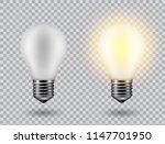 vector image of a light bulb.... | Shutterstock .eps vector #1147701950