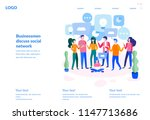 vector illustration  for web... | Shutterstock .eps vector #1147713686