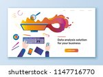 vector flat colorful... | Shutterstock .eps vector #1147716770