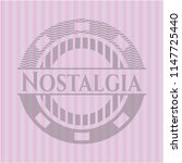 nostalgia retro style pink... | Shutterstock .eps vector #1147725440