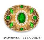 illustration  brooch pendant... | Shutterstock .eps vector #1147729076