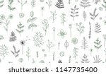 vector seamless pattern of... | Shutterstock .eps vector #1147735400