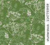 elegant classic herbal seamless ... | Shutterstock .eps vector #1147755959