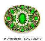 illustration  brooch pendant... | Shutterstock .eps vector #1147760249