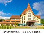 sanatorium in the carpathian... | Shutterstock . vector #1147761056