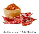 Pile Crushed Red Pepper ...