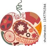 illustration of a junk art... | Shutterstock .eps vector #1147791566