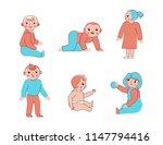 vector illustration in trendy... | Shutterstock .eps vector #1147794416
