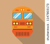 train vector flat icon  modern... | Shutterstock .eps vector #1147803173