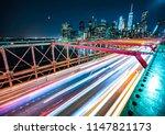 brooklyn bridge new york ...   Shutterstock . vector #1147821173