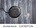 wireless charger for mobile... | Shutterstock . vector #1147837136
