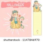 set of vector cartoon... | Shutterstock .eps vector #1147846970