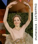 Small photo of BLACKPOOL, JANUARY 14: Madame Tussauds, UK 2018. Dame Darcey Andrea Bussell is an English retired ballerina and a judge on the BBC reality show Strictly Come Dancing.