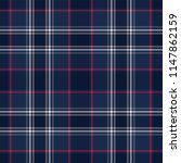 plaid seamless pattern. vector... | Shutterstock .eps vector #1147862159