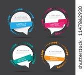 text box vector.perfect... | Shutterstock .eps vector #1147862930