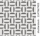 geometric vector pattern ... | Shutterstock .eps vector #1147867403