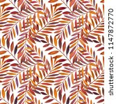seamless pattern with... | Shutterstock . vector #1147872770