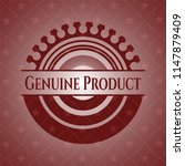 genuine product badge with red... | Shutterstock .eps vector #1147879409