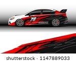 car wrap design vector  truck... | Shutterstock .eps vector #1147889033