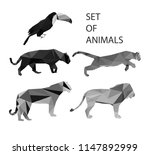 set of vector illustration of... | Shutterstock .eps vector #1147892999