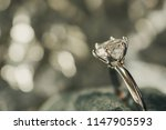 luxury engagement diamond ring... | Shutterstock . vector #1147905593