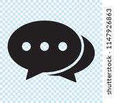 speech bubble icon. chat icon ...