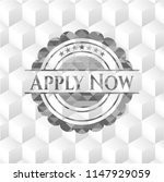 apply now grey badge with... | Shutterstock .eps vector #1147929059