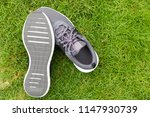 sports shoes placed on the... | Shutterstock . vector #1147930739