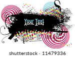 grunge layout for text | Shutterstock .eps vector #11479336