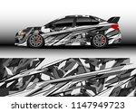 car wrap design vector  truck... | Shutterstock .eps vector #1147949723