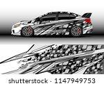 car wrap design vector  truck...   Shutterstock .eps vector #1147949753