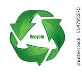 recycle   Shutterstock .eps vector #114795370