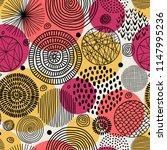 template seamless geometric... | Shutterstock .eps vector #1147995236