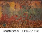 close up of rusty background... | Shutterstock . vector #1148014610