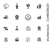 seo and online marketing icons... | Shutterstock .eps vector #1148028620