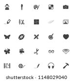 vector art icons set  education ... | Shutterstock .eps vector #1148029040