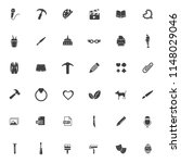 vector art icons set  education ... | Shutterstock .eps vector #1148029046